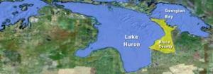 Huron Map